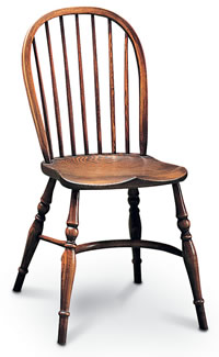 small stickback windsor sidechair