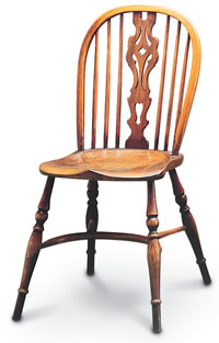 georgian small windsor sidechair