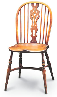 medium georgian windsor sidechair