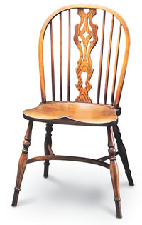 large georgian windsor sidechair