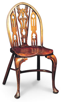 Gothic Side Windsor Chair