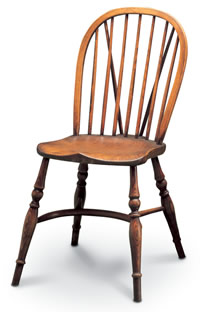 stickback windsor sidechair with tail small