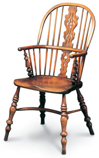 lancashire double bow windsor chair