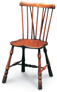 comb back windsor sidechair