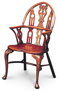 Gothic Windsor Arm Chair