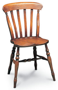 lath back small windsor chair