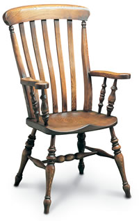 farmhouse windsor armchair