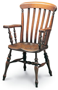 farmhouse windsor carver chair