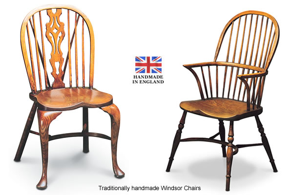 traditionally handmade windsor chairs
