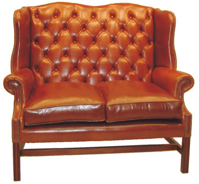 Bradley 2 Seater Wing Sofa Settee