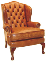 Queen Ann Wing Chairs Sofas Settees