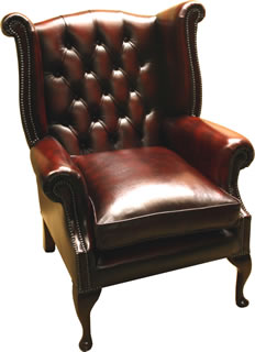 Queen Mary Ann Wing Chair